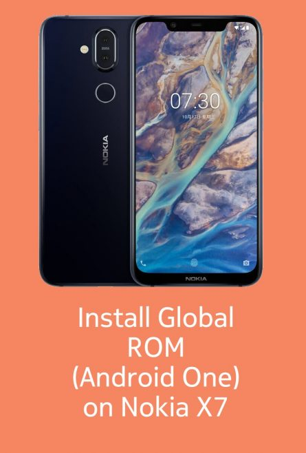 Install Android One ROM on Nokia X7